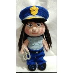 Policía Amigurumi