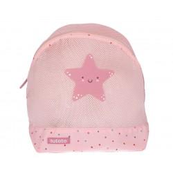 Mochila antiarena Dots Pink