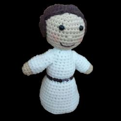 Princesa Leia Amigurumi