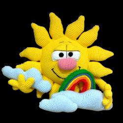 Sol amigurumi