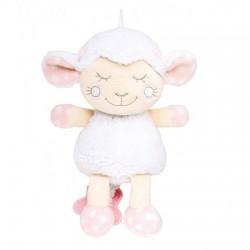 Peluche musical ovejita rosa