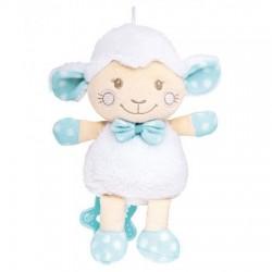 Peluche musical ovejita azul