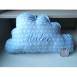 Cojín nube personalizado