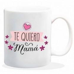 Taza ceramica Te quiero mamá