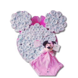 Minnie Mouse de pañales (+...