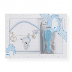 Capa de baño Tendedero Azul...