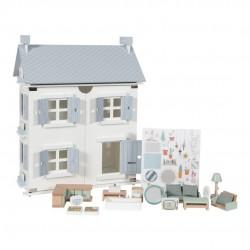 Casa de Muñecas Azul