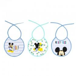 Pack 3 Baberos rizo Mickey...