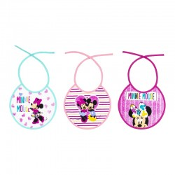 Pack 3 Baberos rizo Minnie...