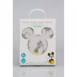 Muselina Bambú Mickey Mouse