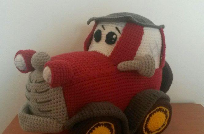 amigurumi coche