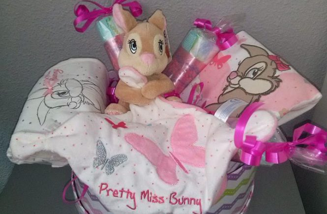 Canastilla Miss Bunny