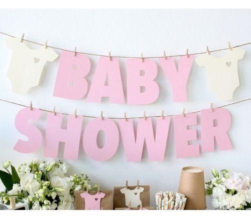 letrero babyshower