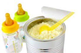 alimentación de un bebé