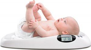 Cuánto debe pesar un bebé