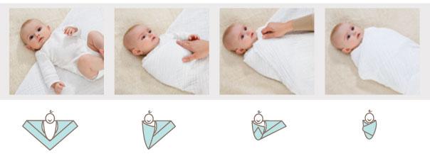 cómo coger a un bebé