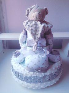 tartas de pañales para niños