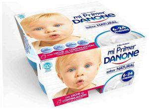 yogures para bebés